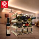 12 Rek van de Fles van de Tribune van de Vertoning van de Opslag van de Wijn van de fles het Praktische Houten