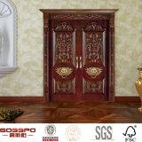 Portelli esterni di legno del doppio del portello del figlio e della mamma (GSP1-022)