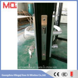中国の工場からの二重ガラスの外部アルミニウムドア