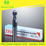 Moinho de extremidade do nariz da esfera do carboneto do cortador de trituração do carboneto de tungstênio