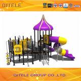 Purpurrotes Plättchen-Kind-Spielplatz-Gerät