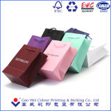Bolsa de papel impresa modificada para requisitos particulares 2016 de la alta calidad que hace compras, bolso de la ropa