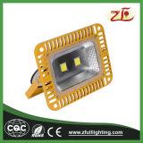 IP66 100Wのよい冷却装置LEDの洪水ライト