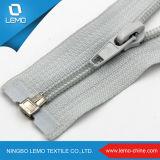 Zipper impermeável do plástico da resina da extremidade aberta da forma