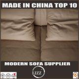 Sofá L ajustado sofá de couro sintético da sala de visitas da mobília da forma