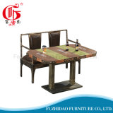 Antique Price Price Table basse en bois pour restaurant