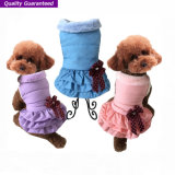 Custom Wholesale Warm Dog vêtements d'hiver Pet Dress