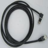 UTP Cat5e dejado al enchufe recto del cable 8p8c del LAN Cablae RJ45