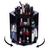 organizador de escritorio del maquillaje de la rotación 360-Degree/almacenaje cosmético