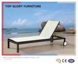 Sala de estar do Chaise de Textilene do jardim para a mobília ao ar livre (TG-812)