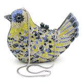 Bolsa 2017 de pedra de cristal das mulheres dos sacos de noite da forma do pássaro de Hotselling Eb707