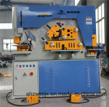 Máquina de perfuração Q35y-40 e de corte combinada hidráulica