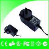 Van Au Plug12V 1A De Adapter van de Macht van het saa- Certificaat met Kabel