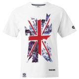 T-shirt estampé par chemise courte faite sur commande A222 de Wholeslae
