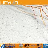 Plancher auto-adhésif de PVC d'effet en pierre bon marché de la Chine