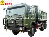 Sinotruk HOWO 6X6 All-Wheel 드라이브 덤프 트럭 팁 주는 사람