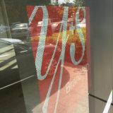 Collants à sens unique personnalisés de visibilité en verre de guichet de taille avec l'impression de dessins