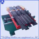 Imprensa de perfurador solar do CNC do calefator de água com plataforma de alimentação
