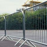 Barricada movible al aire libre galvanizada sumergida caliente del control de muchedumbre para el estadio