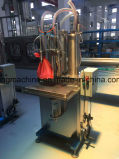 Datilografar manualmente a máquina de enchimento do petróleo