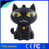 Atacado Personalizar Cartoon Cute Cat PVC USB Flash Drive