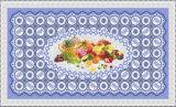 Popular caliente todo en un mantel impreso transparente independiente los 90*145cm (TZ-0030B) del diseño LFGB