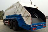 Dongfeng 6X4の頑丈な屑は25トンのトラックをごみ収集車コンパクターの集める