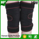 Protetor aberto do joelho do neopreno da patela da venda por atacado (HW-KS019)