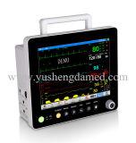 Nuovo schermo di tocco video paziente della macchina medica portatile da 15 pollici