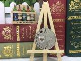Медаль тенниса бронзы серебра золота сплава цинка