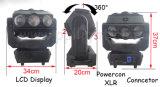10/41CH 9*12W 3 마스크 LED 광속 이동하는 맨 위 단계 빛