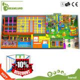 Große Sprung-Trampoline mit Schaumgummi-Vertiefung, kommerzielle grosse Innentrampoline für Kind und Erwachsene