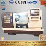 Горизонтальный механический инструмент Lathe CNC плоской кровати Ck61100 поворачивая