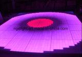 Version fondamentale RVB DEL Digital Dance Floor de la lumière 1mx1m de disco de mariage d'usager d'étape