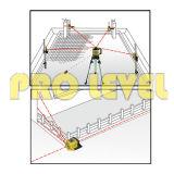 Hohe Genauigkeits-elektronische automatisches Nivellierendrehlaser-Stufe (SRE-301R)