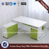 Het lichte Bureau van de Manager van de Goede Kwaliteit van de Lijst van het Bureau van de Melamine van de Kleur (hx-6M034)
