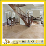 Turco Polished Beige Travertine Slab per Flooring & Wall Clading