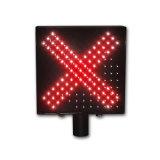 Semáforo de la señal de la flecha LED del verde de la Cruz Roja de la estación del peaje