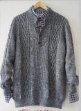 Manteau chandail, manteau chandail, tricot, tricot homme, pull tricot, hommes tricot Clother hommes pull