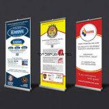 La traction/bruit en aluminium escamotables portatifs de qualité/enroulent l'exposition/loyalement/Foire/stand de drapeau d'étalage de la publicité/promotion