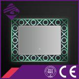 Specchio della stanza da bagno illuminato cristallo basso Jnh278 con lo schermo di tocco