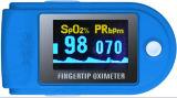 Ce Cms50d approvato dalla FDA, sei colori, ossimetro di Contec di impulso della punta delle dita della visualizzazione di OLED