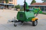 高品質40HPの自己動力を与えられた木製の砕木機