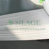 Couleur blanche, 500mm * 25mic * 1800m, 100% LLDPE, film plastique à haute élasticité pour l'herbe d'emballage