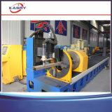 Coupeur de tube de grand dos de machine de découpage de profil de plasma de commande numérique par ordinateur/en métal d'ange/Manche