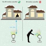 Het aansteken voor Laser Christmastree verfraait