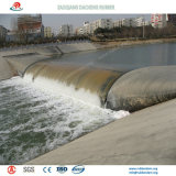 Porta de água de borracha inflável personalizada para o projeto da tutela da água