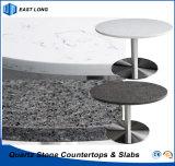Bancadas de pedra projetadas de quartzo para a cozinha com relatório do GV & certificado do Ce (cores de quartzo)