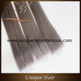 Nastro grigio brasiliano di colore di Remy di prezzi all'ingrosso nelle estensioni