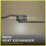 Chaufferette de tube de l'eau d'acier inoxydable